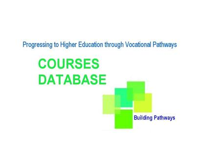INTRODUCTION TO CONCEPT I Guidance on Vocational Qualifications.
