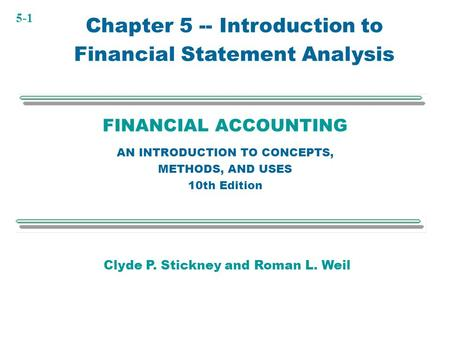 Concept questions financial statement analysis and