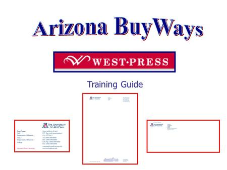 Training Guide. The Punch Out Catalog System The Punch Out shopping catalog for West Press takes the user directly into the vendor's website and online.