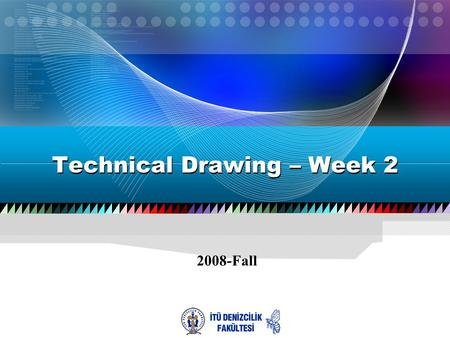 2008-Fall Technical Drawing – Week 2. 2  Drawing Simple Objects –Command Promt –Draw Menu –Draw Toolbox.