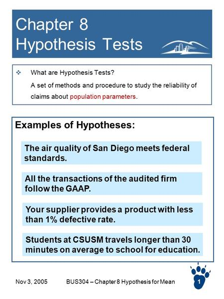 analysis of methods used to test hypotheses How to test hypotheses using four steps: state hypothesis, formulate analysis plan, analyze sample data, interpret results lists hypothesis testing examples.