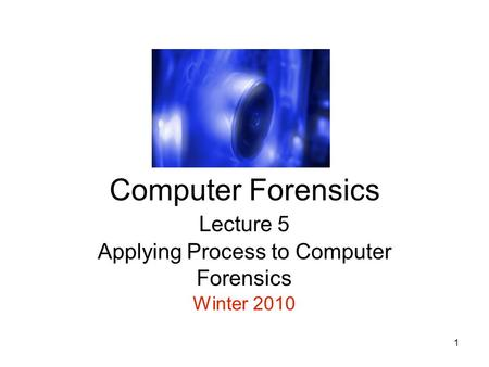 assignment on computer forensics Cis 417 computer forensics, assignment, case studies best resources for homework and assignment help all tutorials are delivered immediately via e-mail.