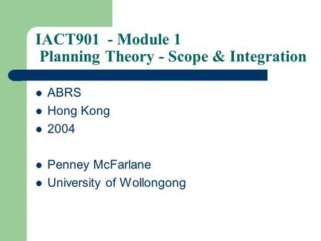 university of wollongong course handbook