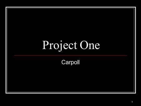 1 Project One Carpoll. 2 3 Excel Convert categorical data into dummy variables Type of vehicle: family, sporty, work Sort type Select some of family.