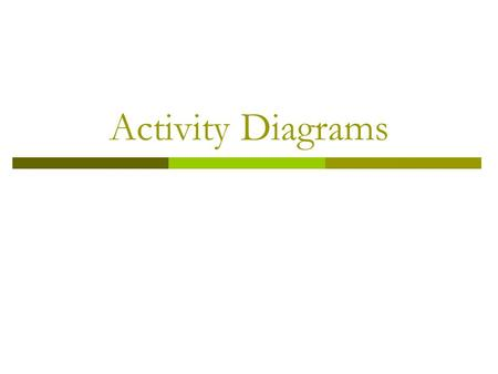 Activity Diagrams. What is Activity Diagrams?  Activity diagrams are a technique to describe procedural logic, business process, and work flow.  An.