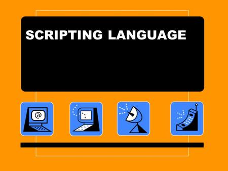 SCRIPTING LANGUAGE. The first interactive shells were developed in the 1960s to enable remote operation of the first time-sharing systems, and these,