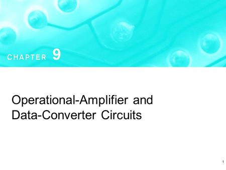 Operational-Amplifier and Data-Converter Circuits