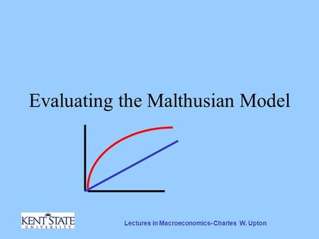 the malthusian model 1 the malthusian model i introduction after reviewing the key development and growth facts, it is clear that we need a theory that can generate a period of constant living.