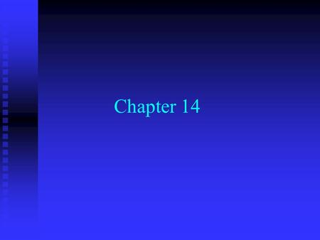 Chapter 14. Working Capital Management Working-Capital Management n Current Assets u cash, marketable securities, inventory, accounts receivable n Long-Term.