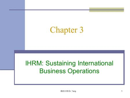 scope of ihrm