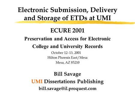 Umi Publishing