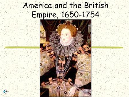 America and the British Empire,