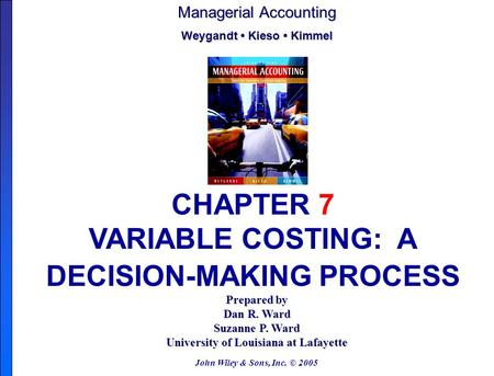jiambalvo chapter 14 Chapter 14 analyzing financial statements: a managerial perspective learning objectives explain why managers analyze financial statements perform horizontal and vertical analyses of the balance sheet and the income statement discuss  - selection from managerial accounting 5th edition [book.