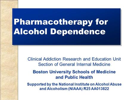 a research on alcoholic dependency