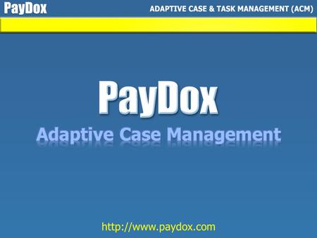 PayDox applications All features can be used independently.