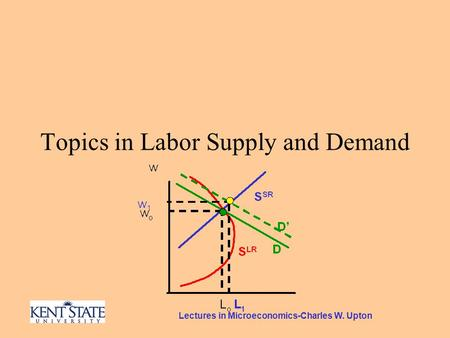 Lectures in Microeconomics-Charles W. Upton Topics in Labor Supply and Demand.