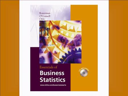 1-1 1-2 Chapter One An Introduction to Business Statistics McGraw-Hill/Irwin Copyright © 2004 by The McGraw-Hill Companies, Inc. All rights reserved.