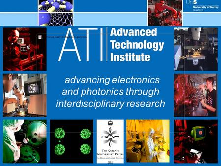 Advancing electronics and photonics through interdisciplinary research.