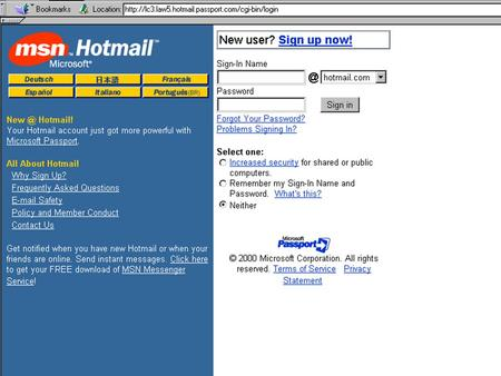 Hotmail Who are the customers Hotmail Who are the customers How do they get customers to come to their site.