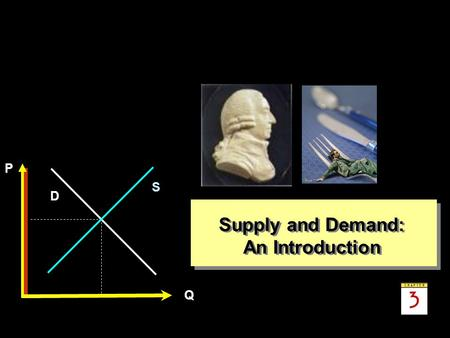 Supply and Demand: An Introduction.