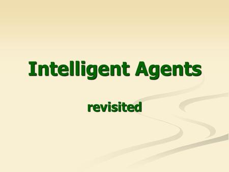 Intelligence without Reason - ppt video online download