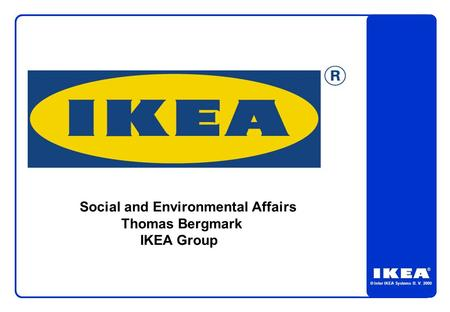 Social and Environmental Affairs