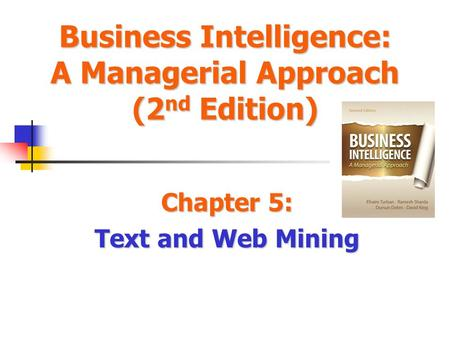 Chapter 5: Text and Web Mining