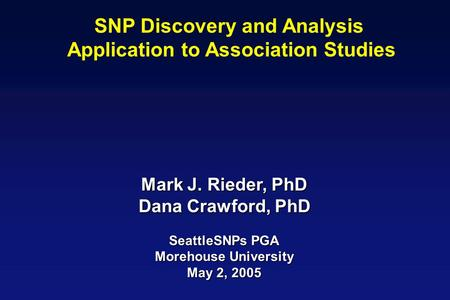 description and analysis of pharmacogenomics