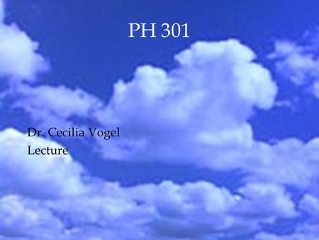 PH 301 Dr. Cecilia Vogel Lecture. Review Outline  Wave-particle duality  wavefunction  probability  Photon  photoelectric effect  Compton scattering.