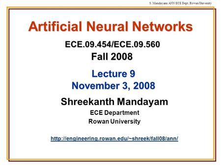 paper presentation on artificial neural network & fuzzy logic Artificial neural networks and fuzzy logic systems, in the context of approximate reasoning, share common features and techniques a family of fuzzy flip-flops is.