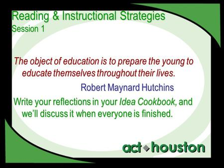 instructional strategies for teaching reading