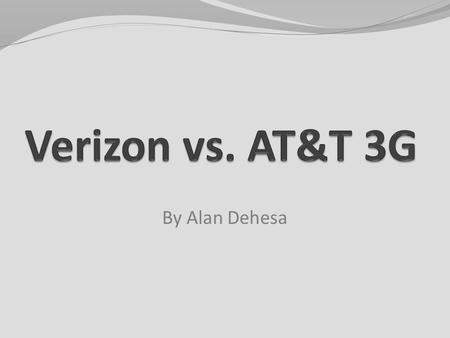 By Alan Dehesa. What is 3G? 3G stands for the third generation of wireless technologies Brings wireless broadband data services to your mobile phone The.