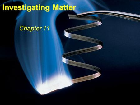 Investigating Matter Chapter 11 Fig. 9.3.
