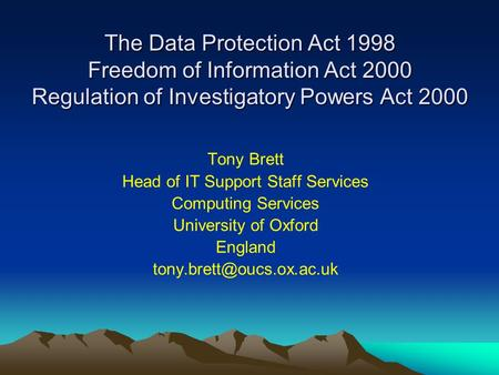 data protection and freedom Freedom of informationcornwall council's publication schemeand a guide to information requests under the freedom of information act 2000 and environmental information regulations 2004.