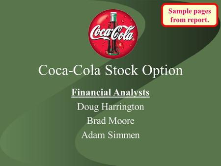 Stock options for ko