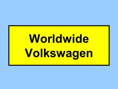 Worldwide Volkswagen With which of the Four Requirements Does Worldwide deal? Proper Notice Constitutional Basis Statutory Basis Proper Venue (No Forum.