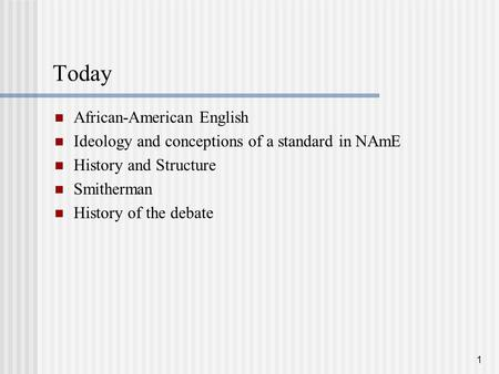 an introduction to the issue of ebonics by african americans and caucasians African-american vernacular english (aave) has been the center of controversy  about the  in fact, ebonics would be classified as a second language  but it  also implies such dialects are 'good enough' for blacks but not for whites  of  the controversial issues in the resolution include the idea that ebonics is not a.