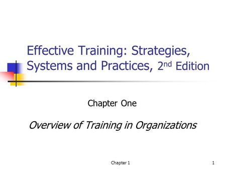 Effective Training: Strategies, Systems and Practices, 2nd Edition