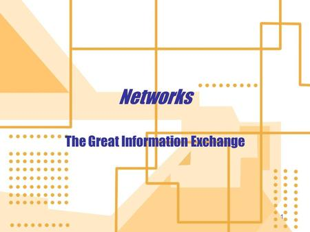 11 Networks The Great Information Exchange. 2 Networking Fundamentals Computer network: Two or more computers connected together Each is a Node Benefits.
