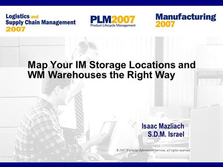Map Your IM Storage Locations and WM Warehouses the Right Way