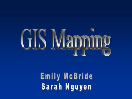 What is GIS Geographic Information Systems –System capable of capturing, storing, analyzing, and displaying geographical data identified according to.
