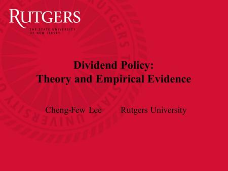 empirical evidence of modigliani and miller theory The debate on the impact of capital structure variables on firm value is ongoing in the field of corporate modigliani and miller [4] various studies have tried to find empirical evidence for these theories by us.