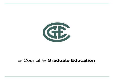 Postgraduate Research Professor D Howard Green Chair : UK Council for Graduate Education.