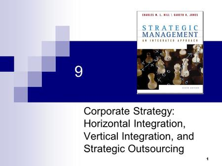 1 9 Corporate Strategy: Horizontal Integration, Vertical Integration, and Strategic Outsourcing.