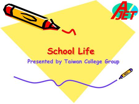 Presented by Taiwan College Group