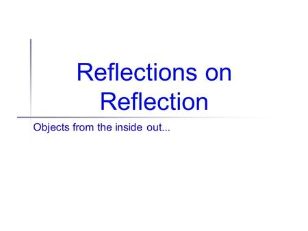 Biology 101 the pandas thumb reflection