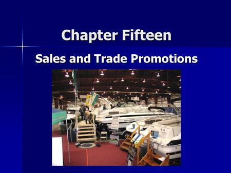 Sales and Trade Promotions