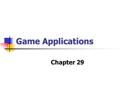 "Game Applications Chapter 29. Nash Equilibrium In any Nash equilibrium (NE) each player chooses a ""best"" response to the choices made by all of the other."