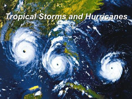 the hazards presented by tropical storms Back to hazards menu: tropical storms what they are where they are found tropical storms are defined by their wind speeds and the potential damage they can cause wind speeds are used to decide what category of storm a tropical storm is.