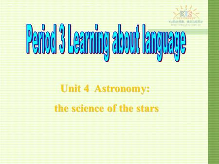 Unit 4 Astronomy: the science of the stars the science of the stars.
